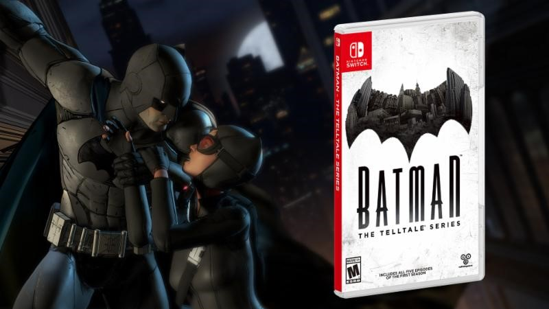Telltale Batman Season 1 Coming to Nintendo Switch 2