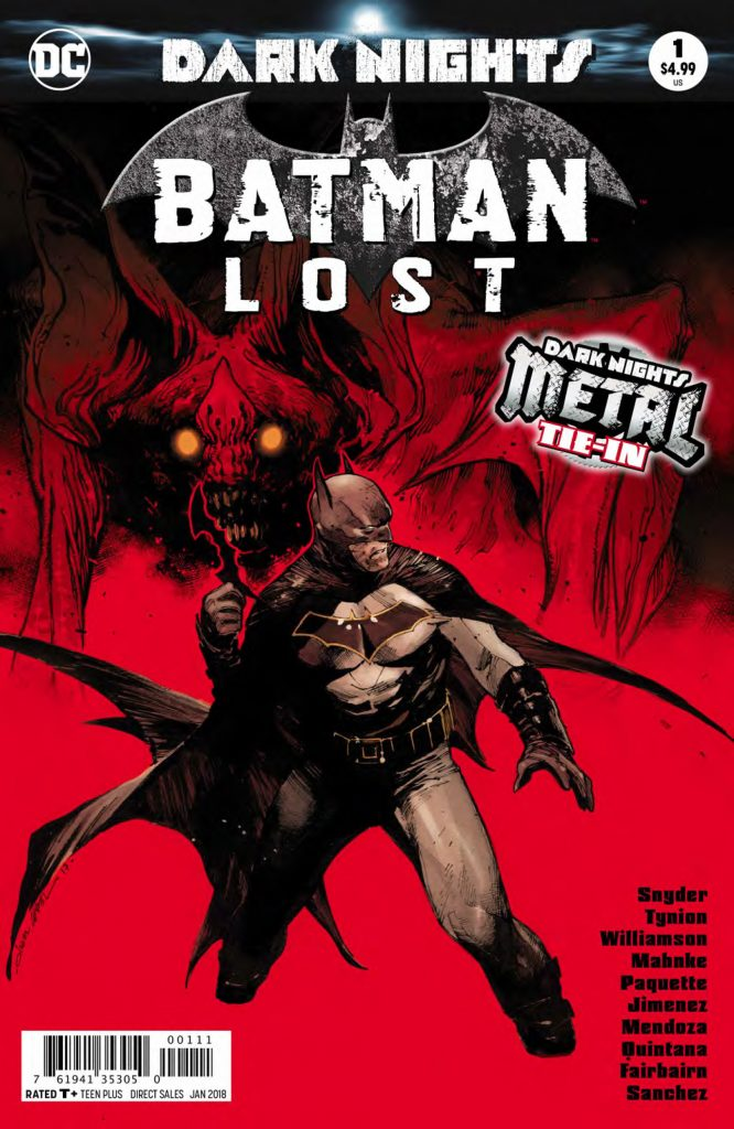 batman lost #1 cover