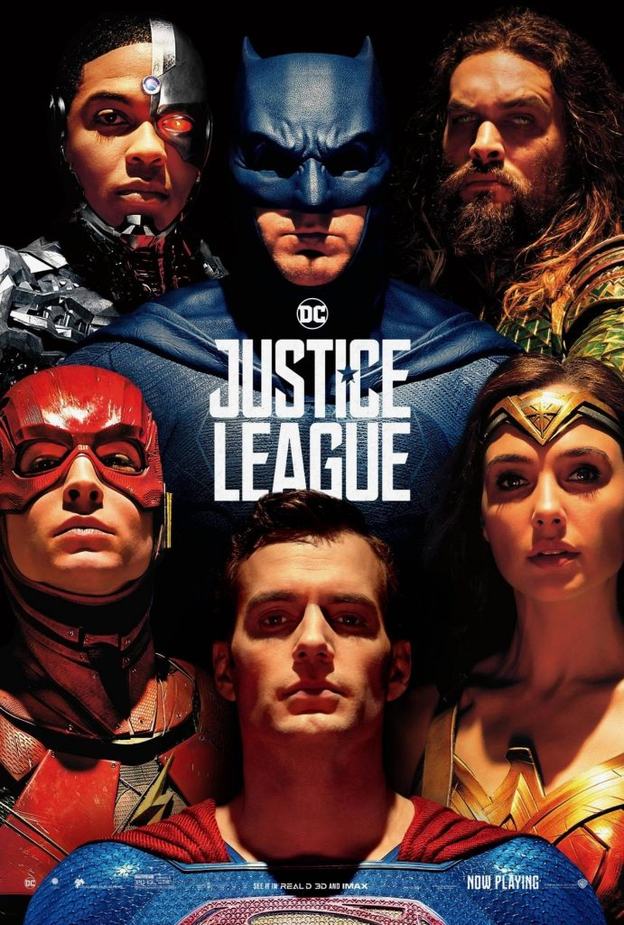 Justice League poster with Superman