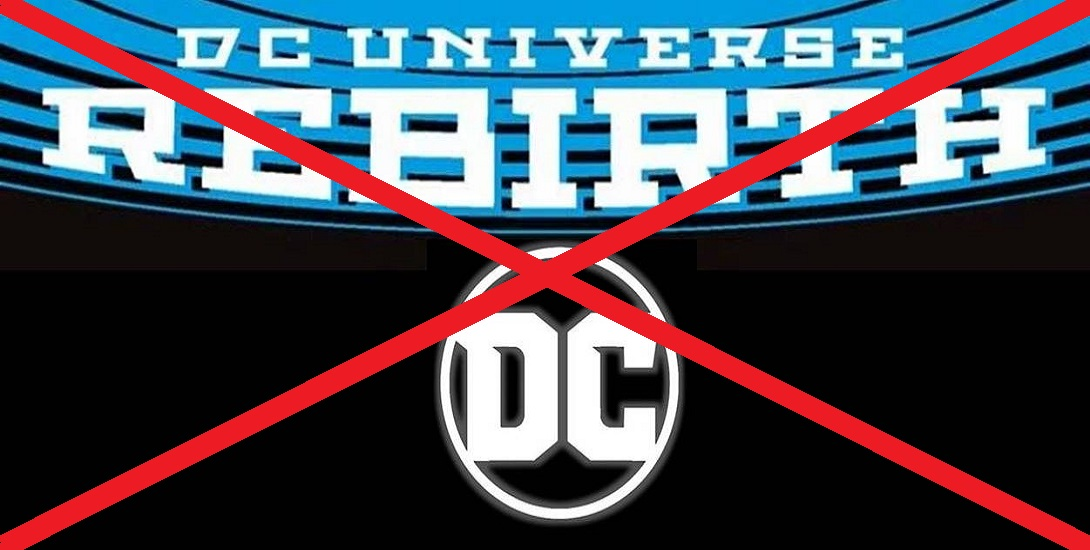 Dc Drops Rebirth Banner All New Cover Designs Arriving December 2017