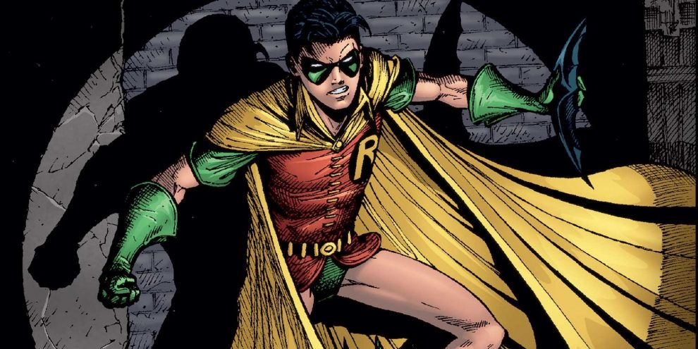 Dick Grayson as Robin in comics