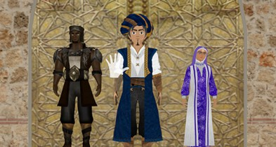 Historic Arabian Clothing