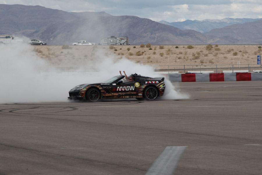 Sam Schmidt Drifting