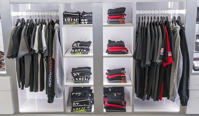 Store set up