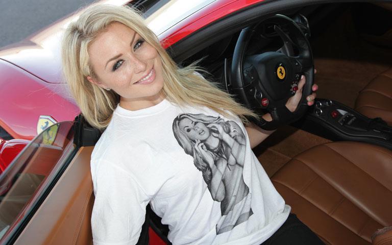 Miss Supercross drove a Lamborghini Superleggera and she loved it!