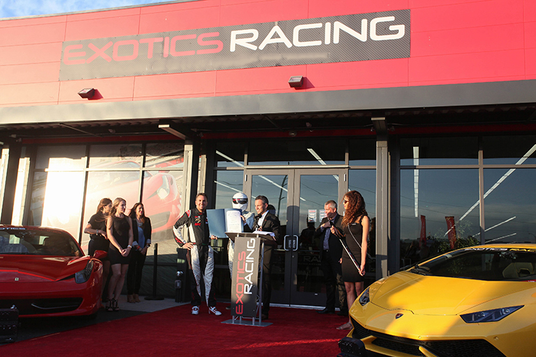 Exotics Racing Day