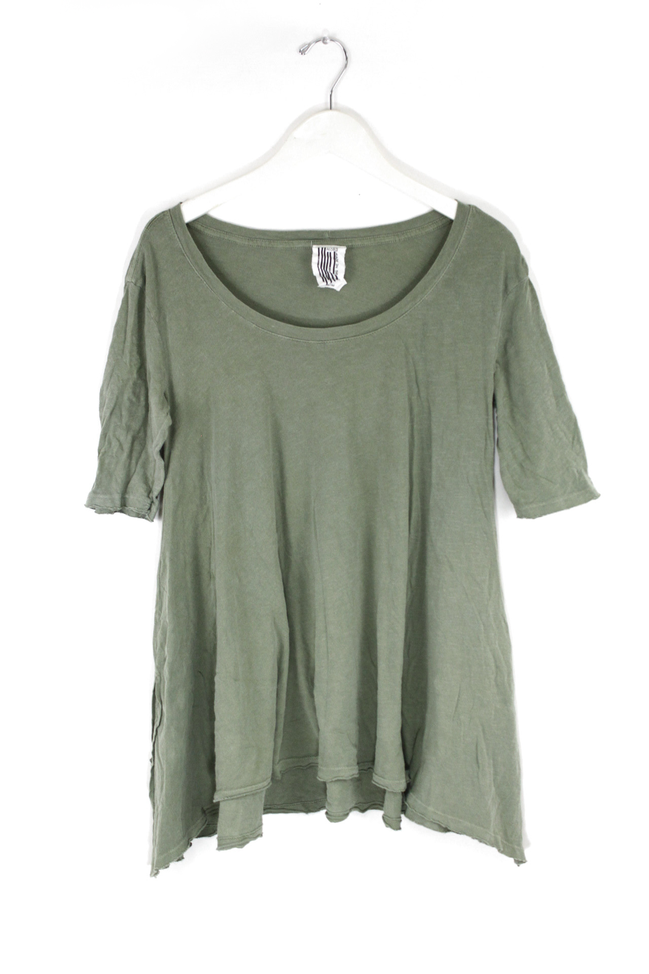 New Free People Melrose Swing Tee 100/% Cotton Hi-Lo Trapeze Top Womens Xs-L $68