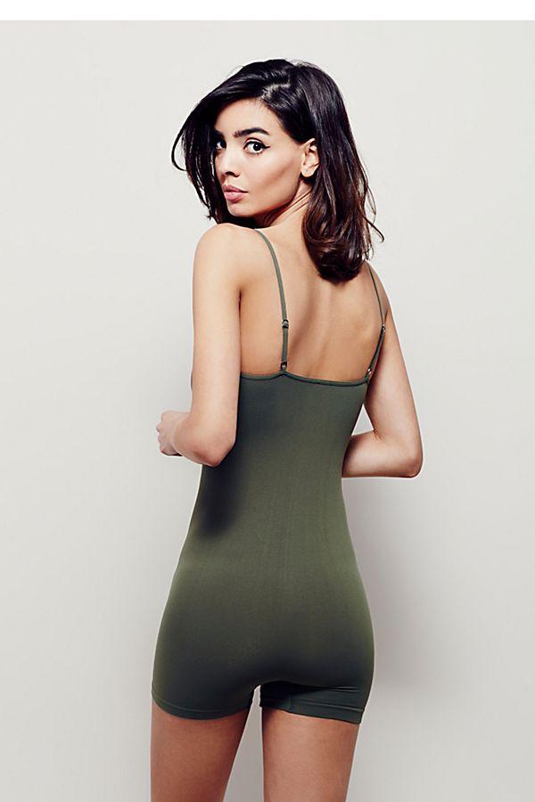 New Free People Seamless Romper Bodycon Sleeveless Bodysuit Multicolors Xs-L $38