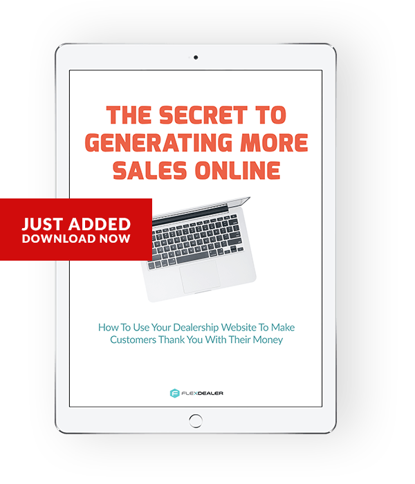 ebook - the secret to generating more sales online
