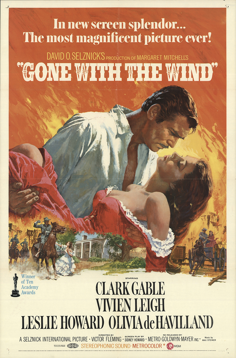Gone With the Wind 1968 Original Movie Poster Drama ...