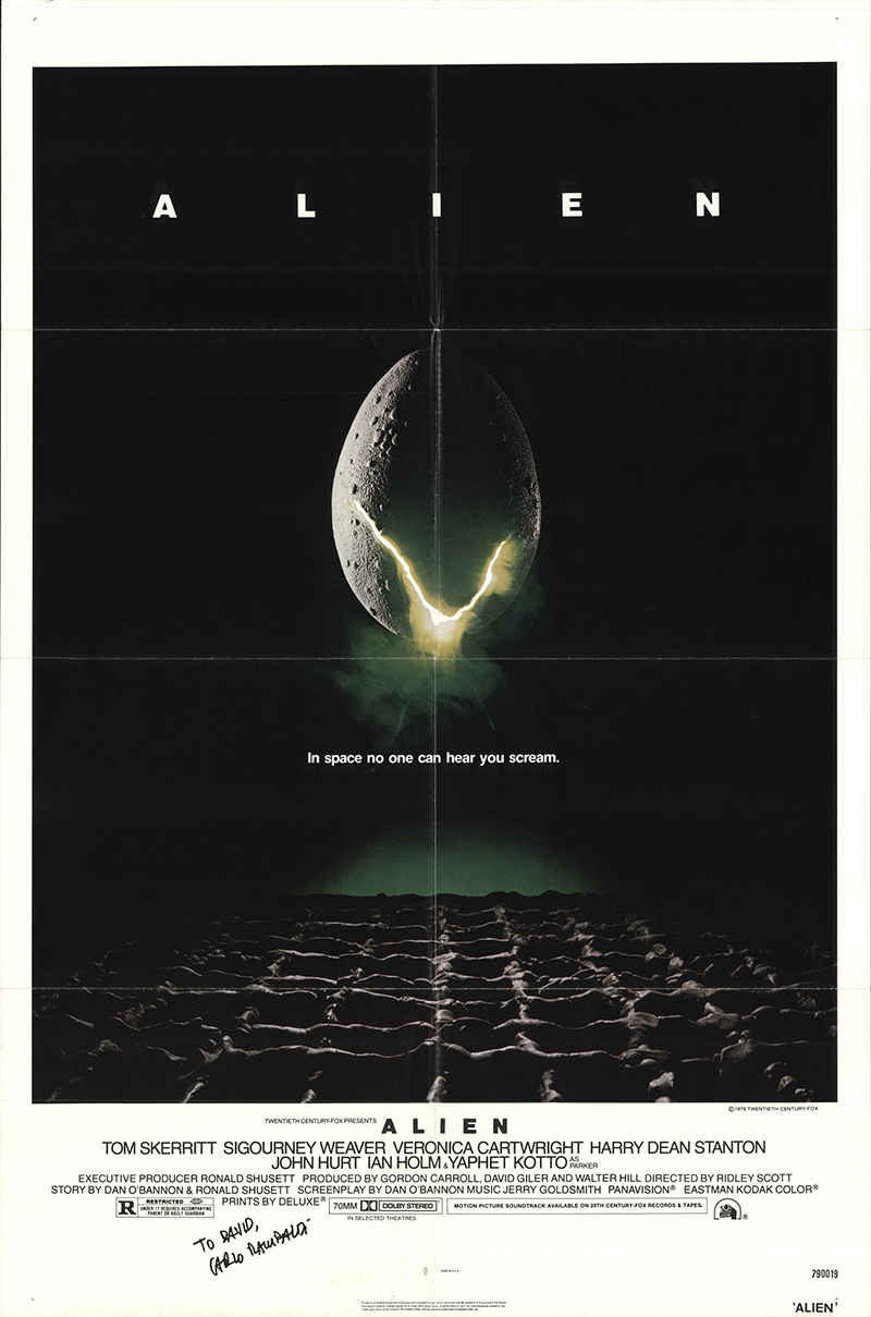 alien movie poster original - photo #21