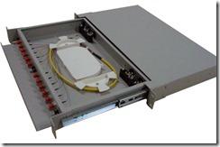 fibre patch panel termination