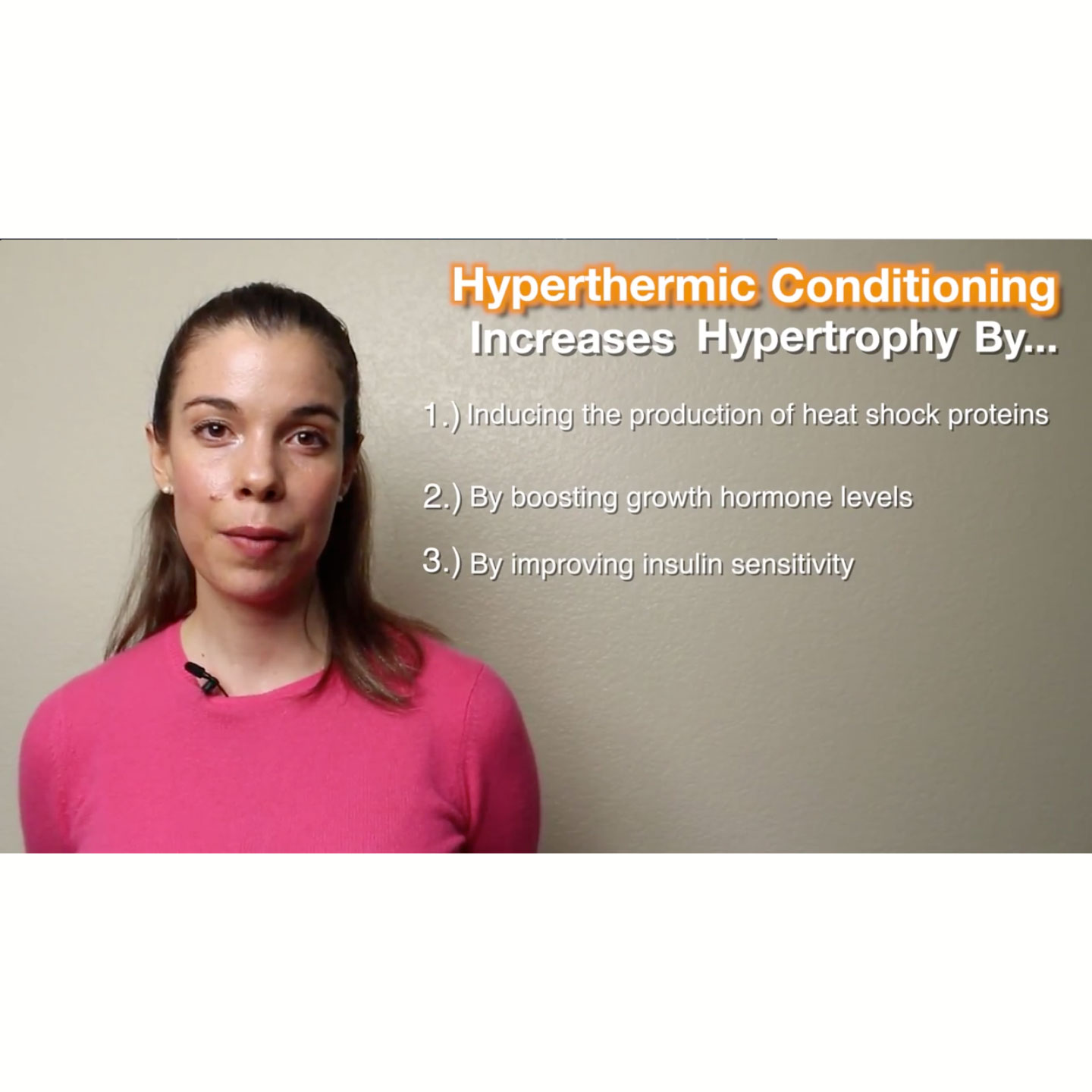 Hyperthermic Conditioning for Hypertrophy, Endurance, and Neurogenesis
