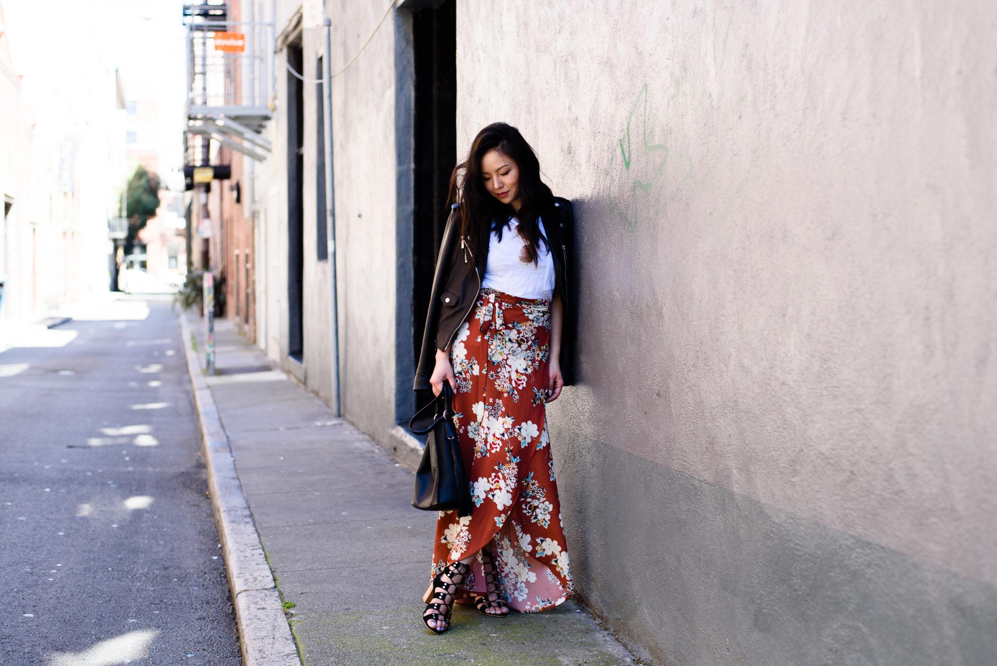 #OOTD: Flowy Skirt