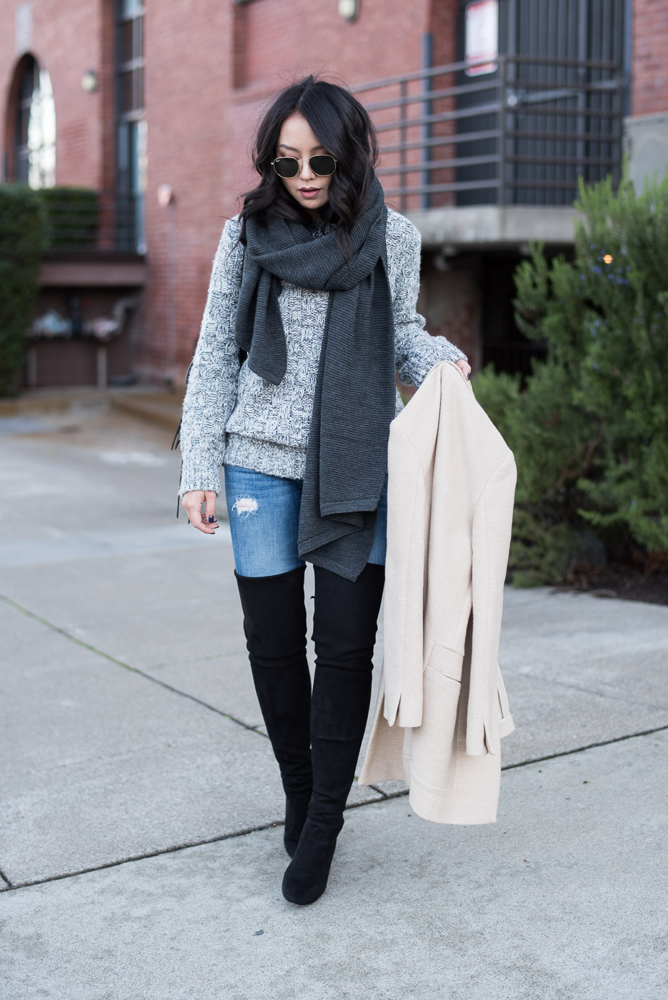 Over-The-Knee Boots For Petite: Stuart Weitzman Alllegs Boots