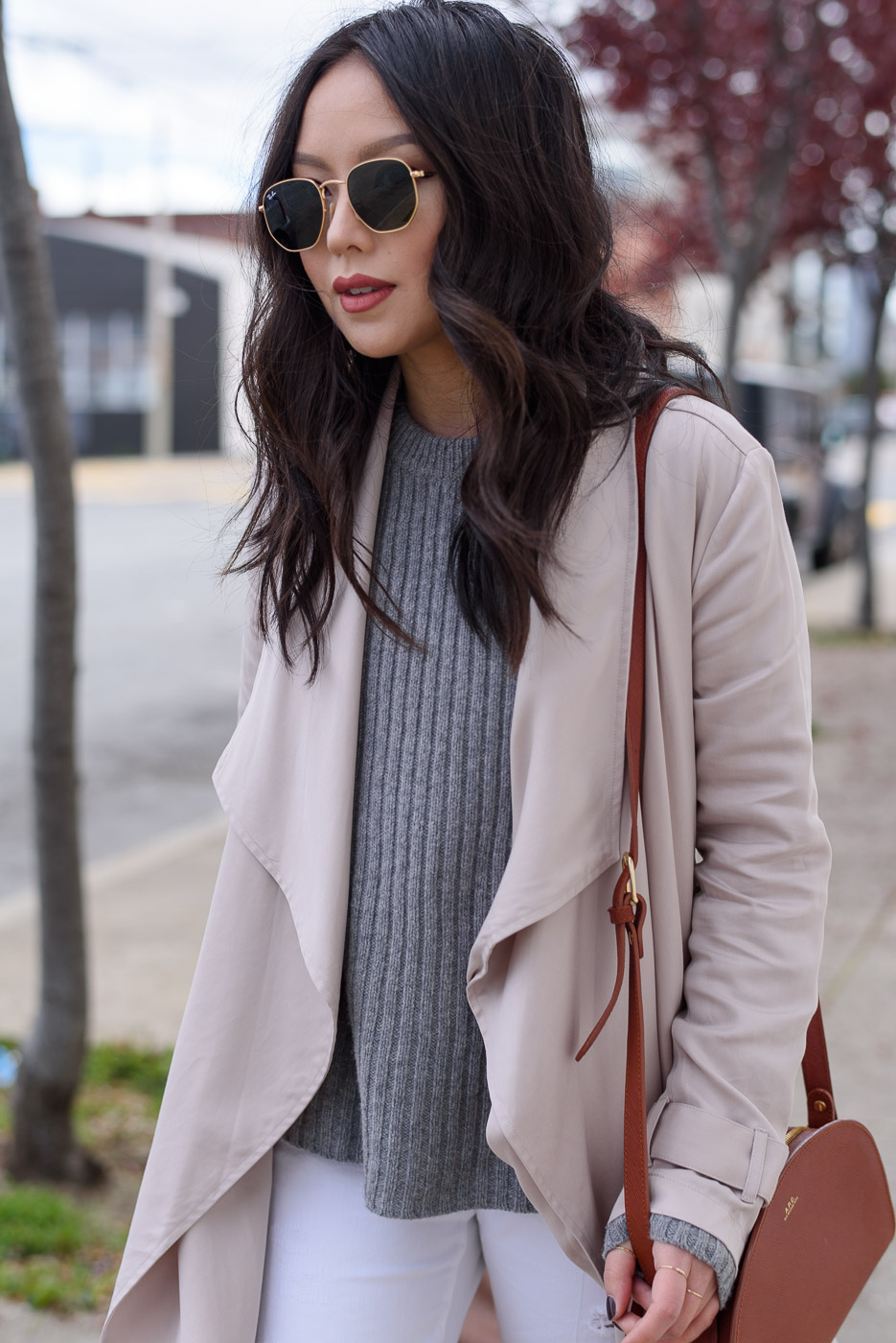 Spring Trend: Blush Trench Coat | The Fancy Pants Report
