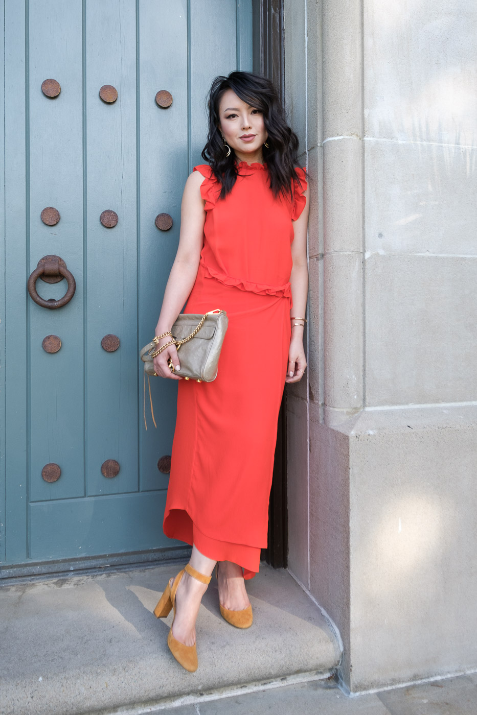 What To Wear With A Red Dress | The Fancy Pants Report | San Francisco Style Blog
