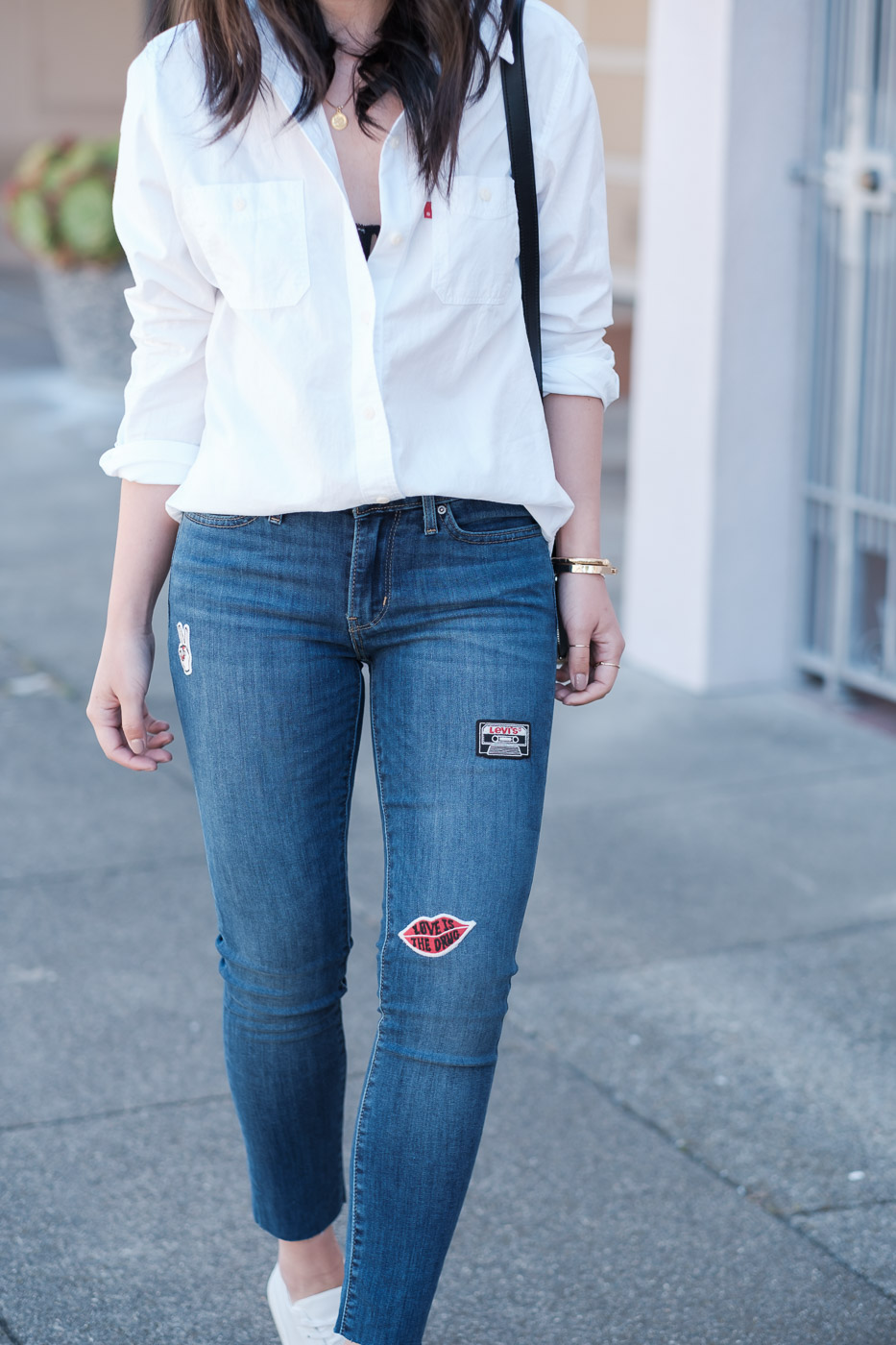 Levi's 711 Skinny Jeans | The Fancy Pants Report, San Francisco Fashion Blog