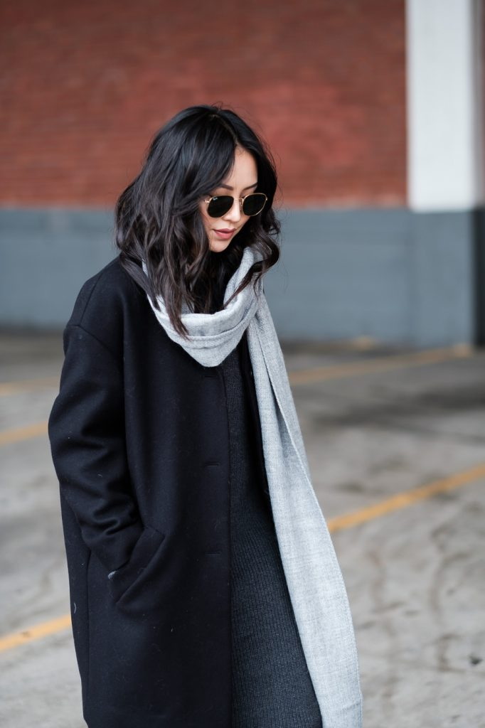 how-to-wear-a-sweater-dress-over-the-knee-boots