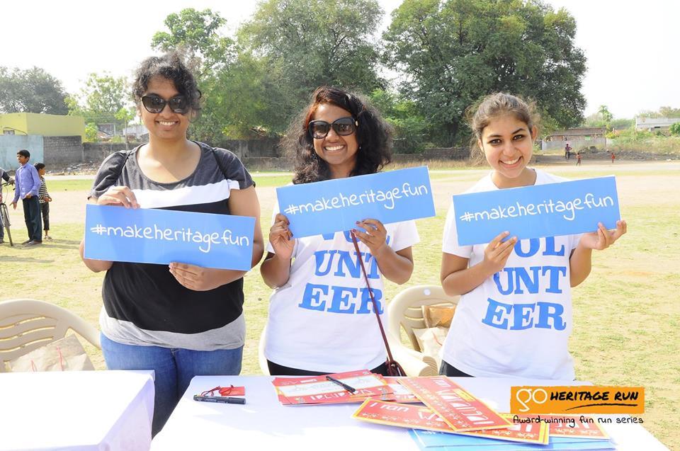 Volunteer with Go Heritage Runs