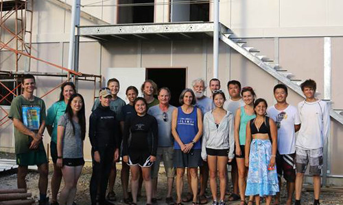 Coral Reef Research Foundation laboratory rebuilt with support of Gordon Moore