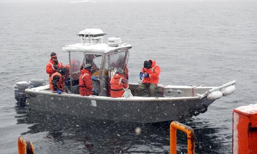 Research Trip - Herbert Sound, Antartica