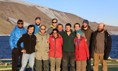 Grad Students - Herbert Sound, Antarctica