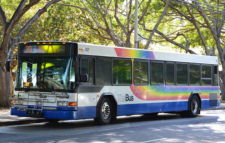Riding The Bus On Oahu Hawaii Com
