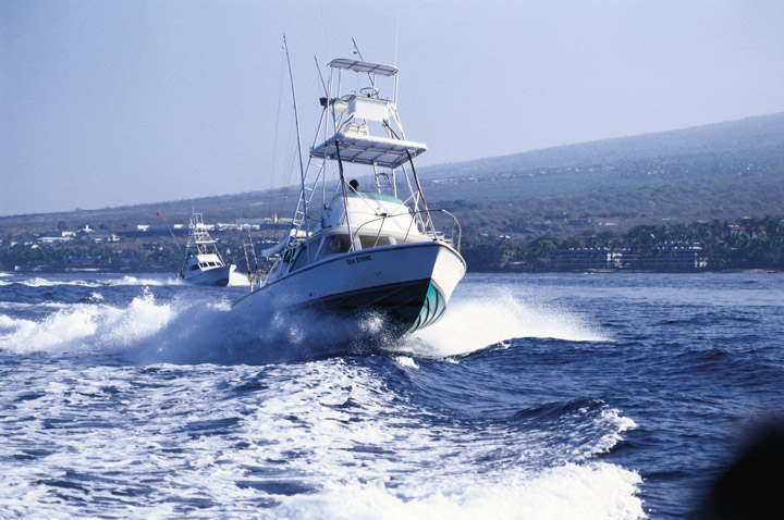 Sportfishing vessel | Hawaii Tourism Authority (HTA) / Kirk Lee Aeder