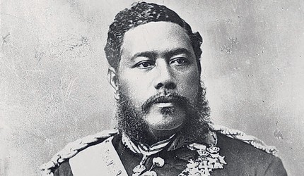 King David LaÔamea Kalakaua, HawaiiÕs last king. (Star-Advertiser File)