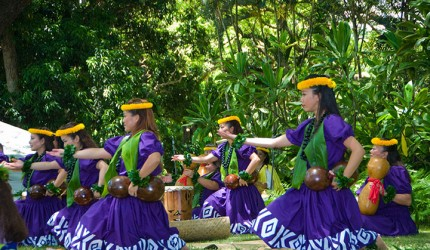 prince lot hula festival moanalua gardens