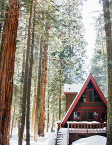 AFrame Cabin Tahoe-Hither and Thither-1