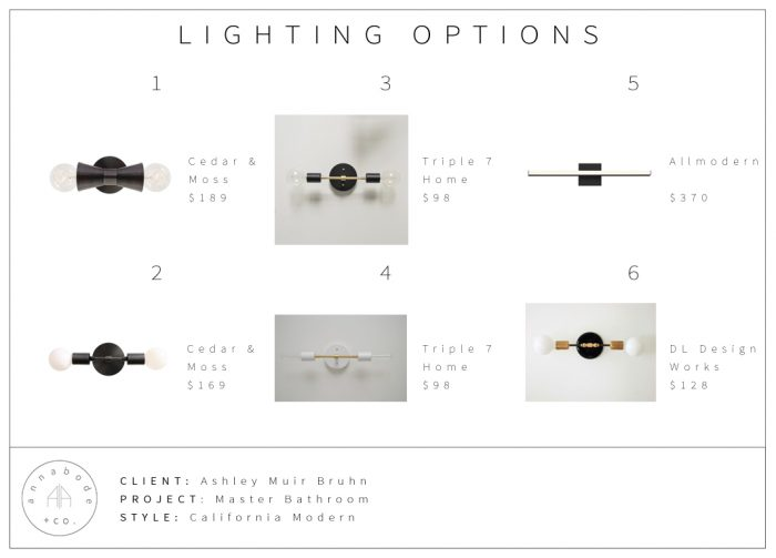 AMBCACA16 - Lighting Options