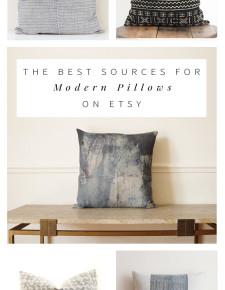 The Best Modern, Bohemian Pillows on Etsy