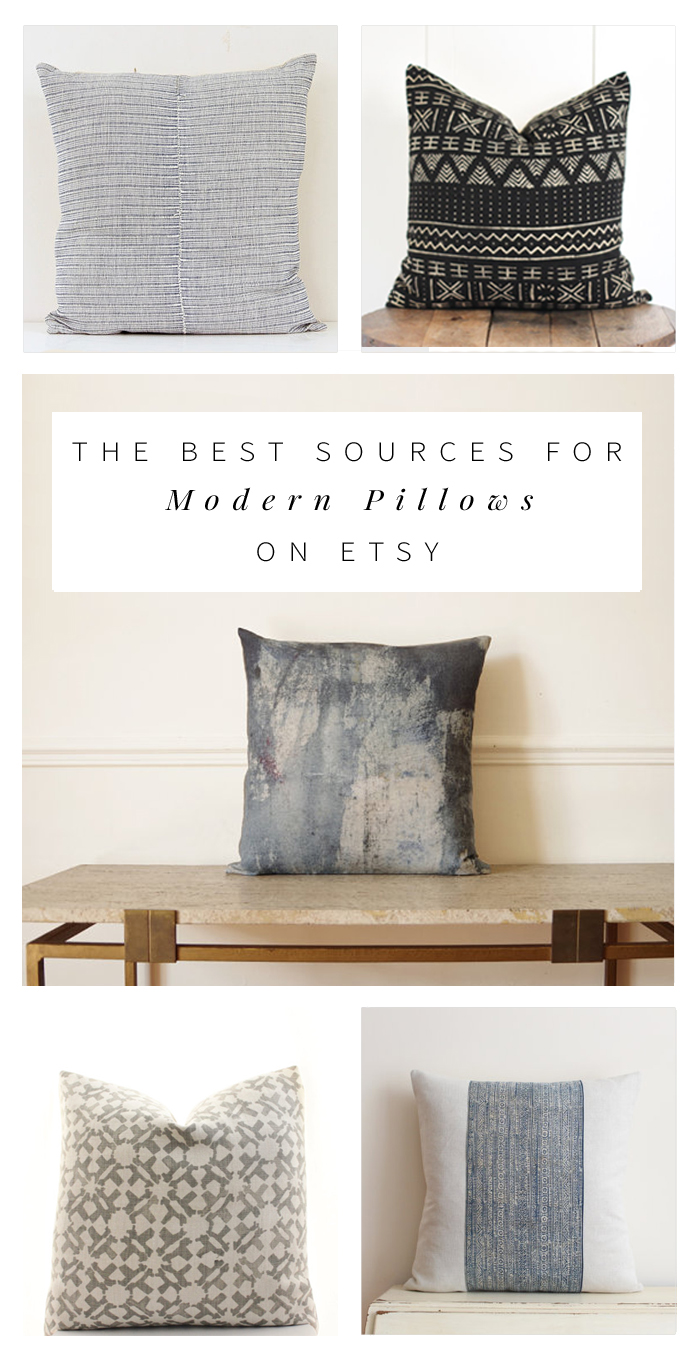 The Best Modern, Bohemian Pillows on Etsy