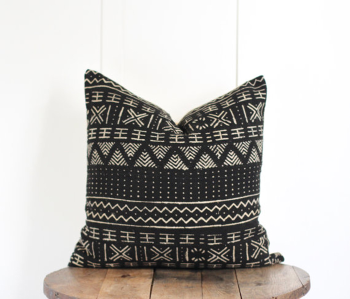 Modern Bohmian Pillows on Etsy