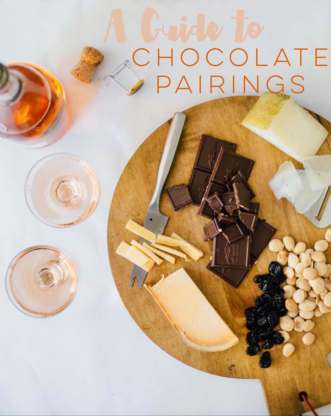 How To Pair Chocolate