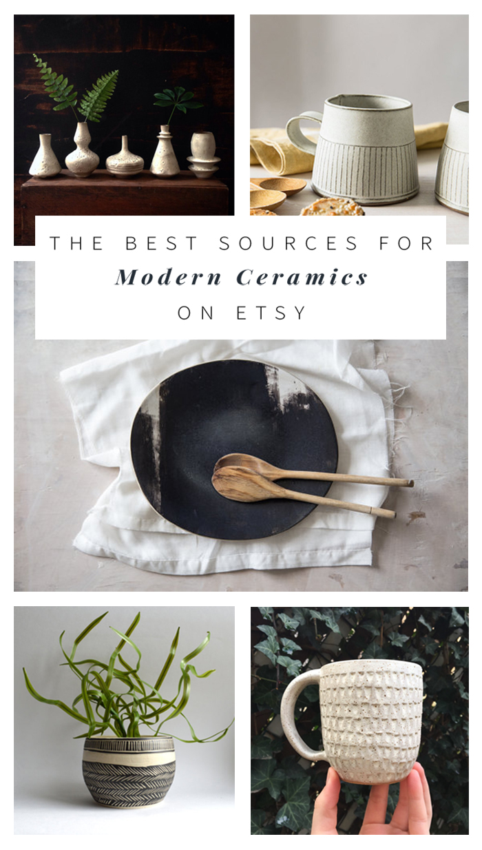 Modern Ceramics on Etsy