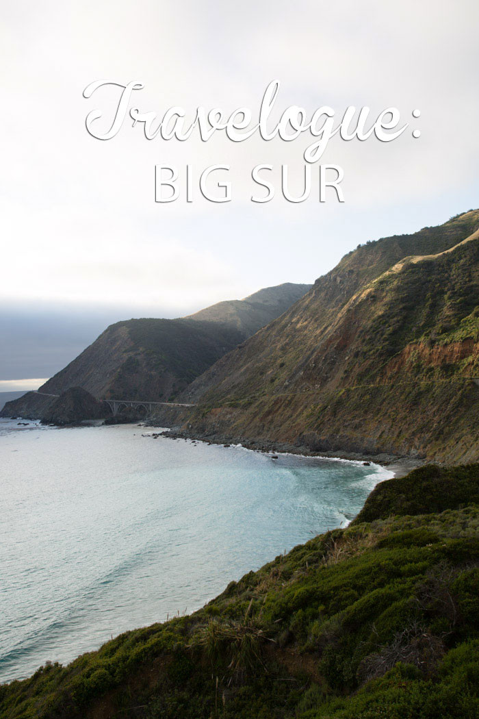 Travelogue Big Sur