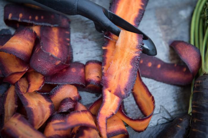 Carrot Ribbons 1