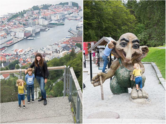 Top of Bergen