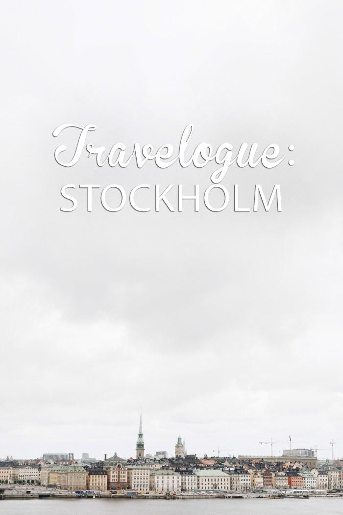 Travelogue Stockholm