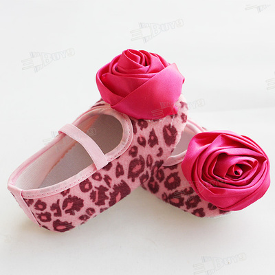 Toddler baby Princess girl boy Leather dog shoes Age 6-9 9-12 12 ...