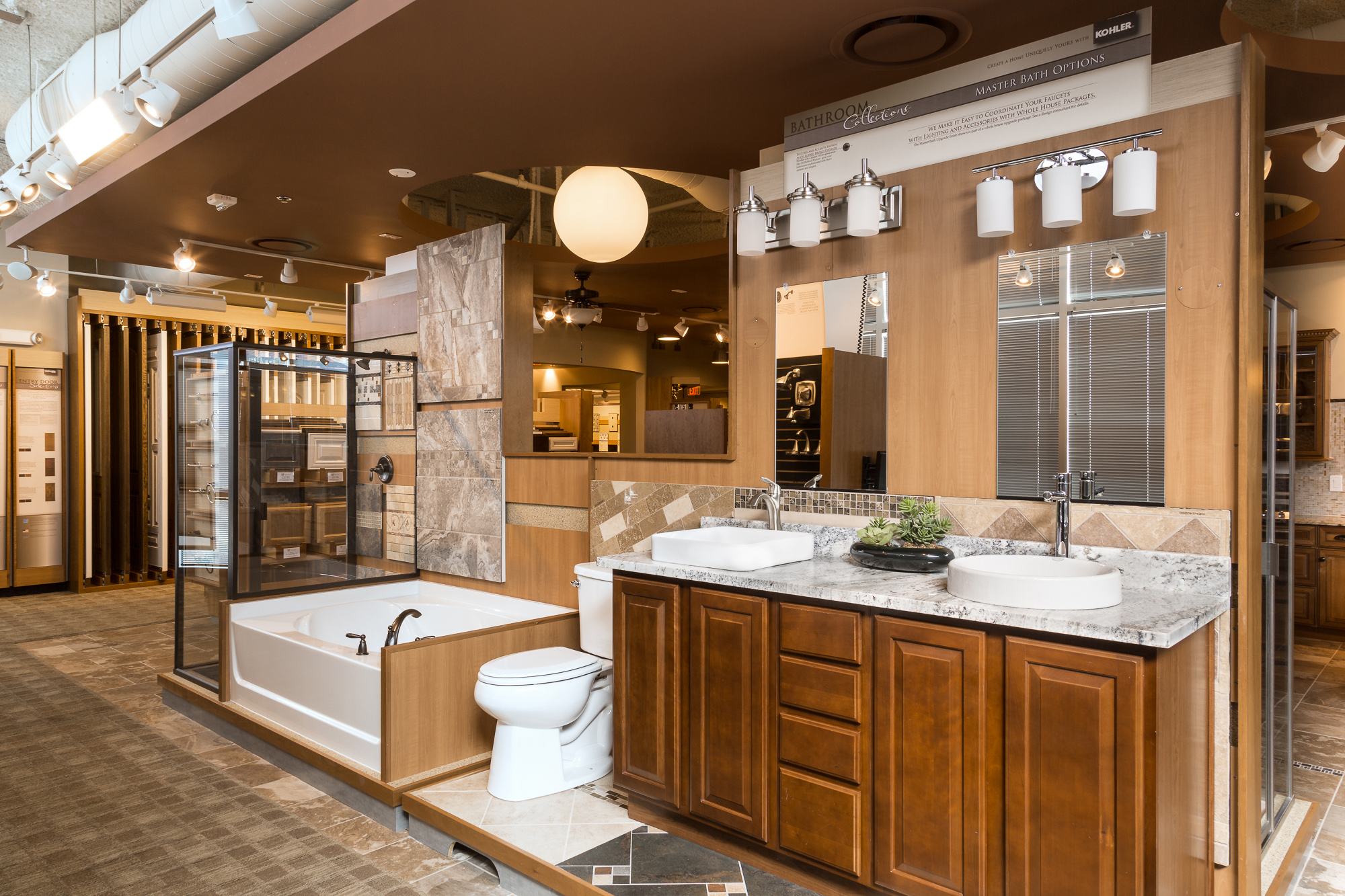 pulte home expressions studio design center, az - interior