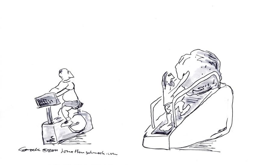 Sisyphus at the Gym