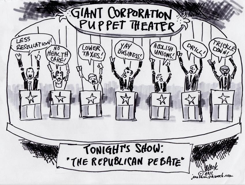Corporate Puppet Theatre