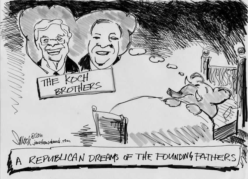 Founding Fathers - Koch Brothers