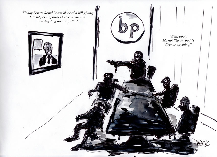 Blocked Subpoena Powers