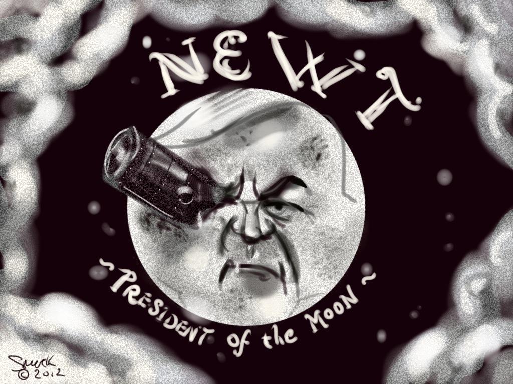 Newt, President of the Moon