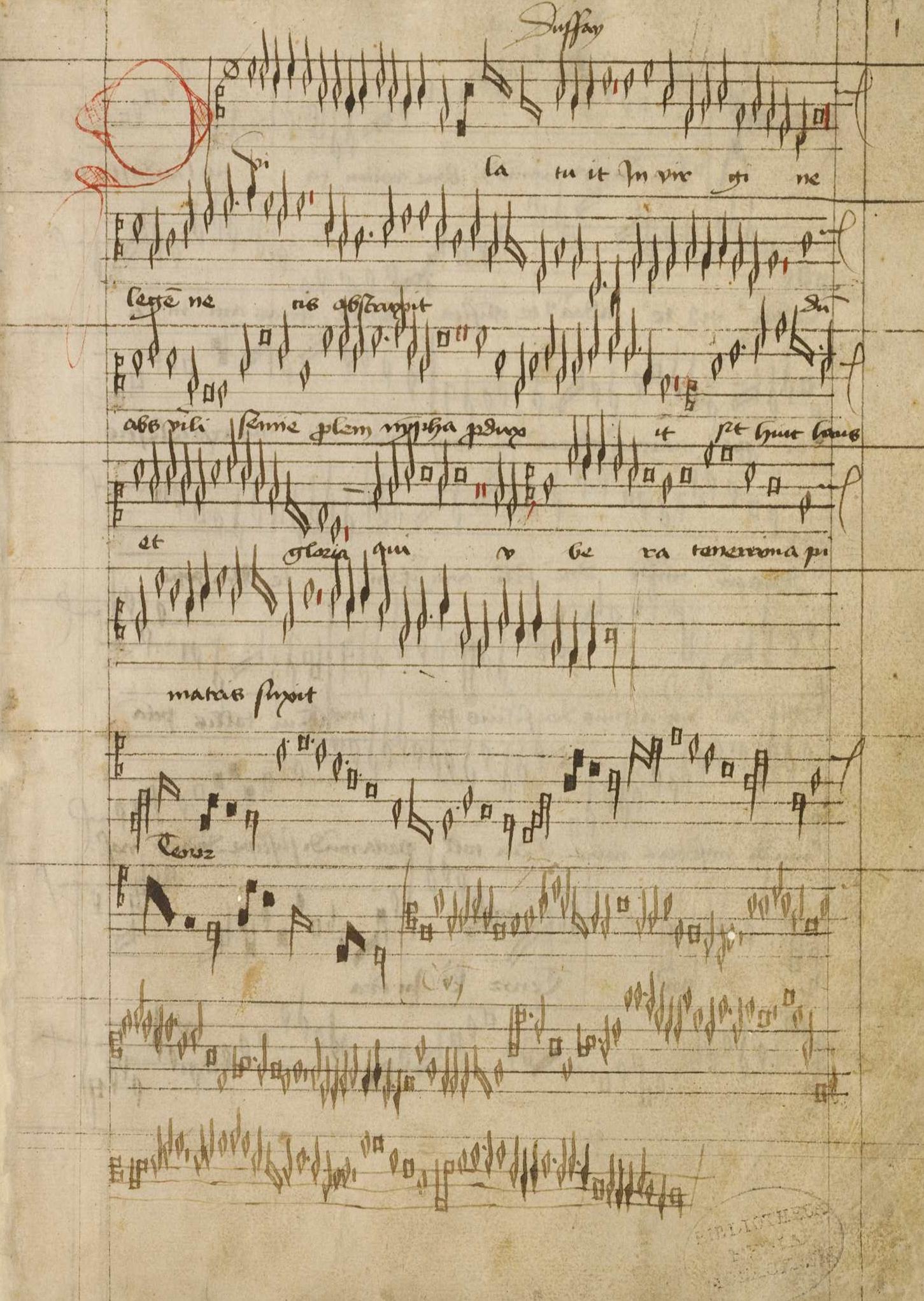Codex st emmeram clm14274 001r